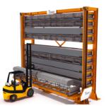 Système de stockage pour produits longs