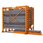 Système de stockage à extension latérale